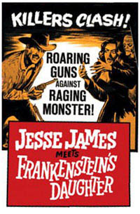 Jesse James contre Frankenstein [1966]