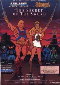 Les Maîtres de l'Univers : Le secret de l'épée [1985]