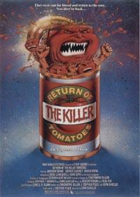 L'Attaque des Tomates Tueuses : Le Retour des tomates tueuses [1988]