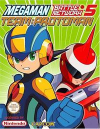 Mega Man Battle Network : MegaMan Battle Network 5 - Team : Protoman [#5 - 2005]