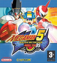 Mega Man Battle Network : Megaman Battle Network 5 : Double Team #5 [2006]