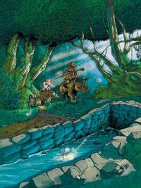 Les contes de Brocéliande : Les Dames de Brocéliande #3 [2005]
