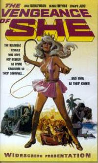 Elle / Ayesha : La Déesse des Sables [1968]