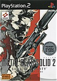 Metal Gear Solid 2 :  Sons of liberty [#2 - 2002]