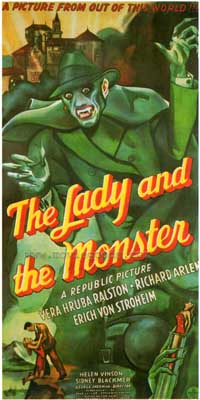 Donovan's Brain : The lady and monster