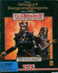 Eye of the Beholder III : Assault on Myth Drannor - PC