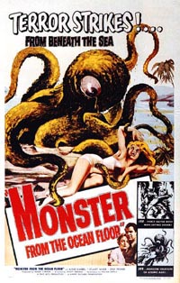 Monster from the Ocean : Le Monstre de l'Ocean
