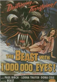 The Beast with a Million Eyes [1956]