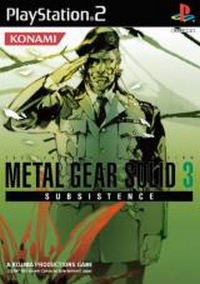 Metal Gear Solid 3 Subsistence #3 [2006]