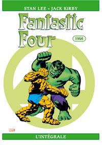 4 fantastiques : Les Quatres fantastiques : Intégrale 1964 #3 [2005]