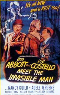 Deux Nigauds contre l'Homme Invisible [1952]