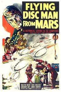 Le monstre écarlate : Flying Disc Man from Mars