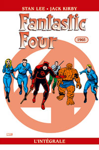 4 fantastiques : Les Quatres fantastiques : Intégrale 1965 [#4 - 2006]