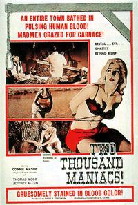 2000 maniacs [1964]