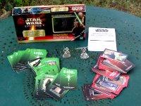 Star Wars Episode 1 - Jeu de cartes affrontement des sabres laser
