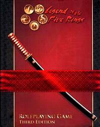 Rokugan : Le Livre des Cinq Anneaux 3ème édition [2006]