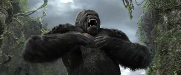 King Kong contre Chicken Little : Un singe et un poulet se font croquer sur Photoshop