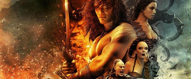 Le  Red Band trailer de Conan : Le sang coule dans le futur Conan le Barbare.
