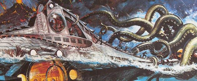La mode Jules Verne Revient ! : Après le voyage au centre de la terre, voici les Vingt milles lieues sous les mers