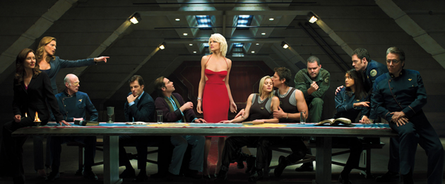 Episode 1- Battlestar Galactica: Blood and Chrome : Battlestar Galactica de retour
