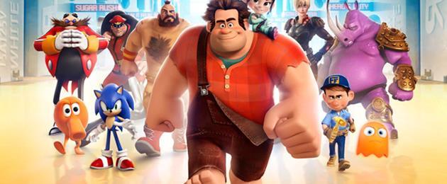 L'image du jour : Les mondes de Ralph : Quatre affiches et des stars du jeu vidéo...