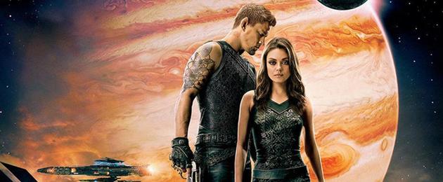 2 Affiches des personnages de Channing Tatum et Mila Kunis dans Jupiter Ascending : Le retour des Wachowskis