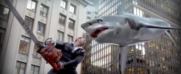 Le trailer de Sharknado - MISE A JOUR : It's raining sharks, alleluia! (air connu)