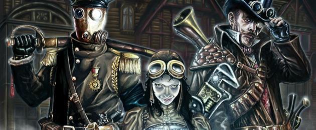 Le jeu de rôle SteamShadows dans les bacs : Découvrez la face sombre du steampunk...