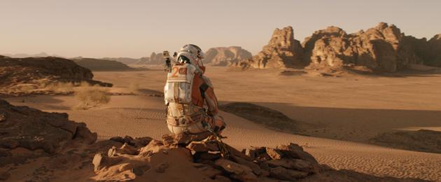 Première image de Matt Damon dans The Martian : La vue depuis Mars est magnifique