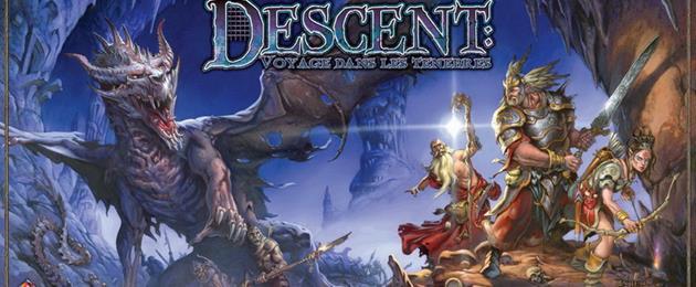Une nouvelle extension pour Descent : Voyage dans les ténèbres : Affrontez la perfide reine Wyrm...
