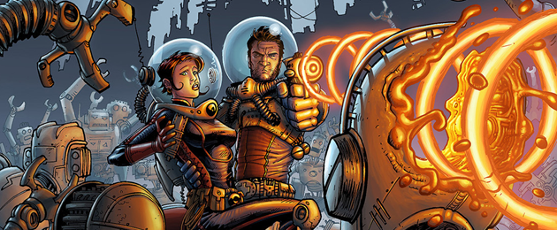 Rencontre avec... Tony Moore : le dessinateur de  Fear agent et Walking dead sur SFU