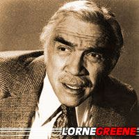 Lorne Greene  Acteur