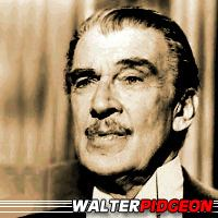 Walter Pidgeon  Acteur