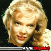 Anne Francis  Actrice