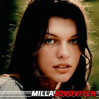 Milla Jovovich  Actrice