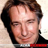 Alan Rickman  Acteur, Doubleur (voix)