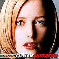 Gillian Anderson  Actrice, Doubleuse (voix)