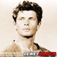 Dewey Martin  Acteur