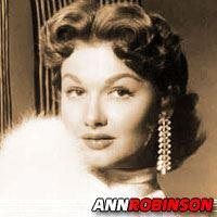 Ann Robinson  Actrice