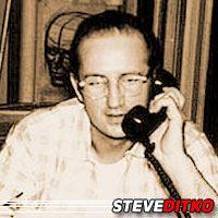 Steve Ditko  Scénariste, Dessinateur