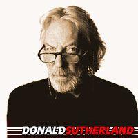 Donald Sutherland  Acteur, Doubleur (voix)