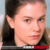 Anna Paquin  Actrice, Doubleuse (voix)