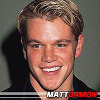 Matt Damon  Producteur, Acteur