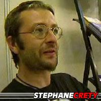 Stephane Crety  Scénariste, Illustrateur, Dessinateur