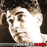 Edgar G Ulmer