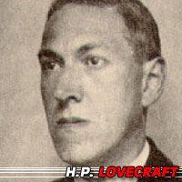 Howard Phillips Lovecraft  Auteur