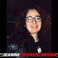 Jeanne F. d'Arcier  Auteure