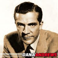 Dana Andrews  Acteur
