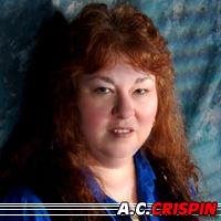 A. C. Crispin  Auteure