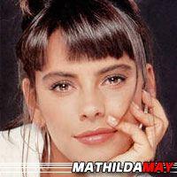 Mathilda May  Actrice